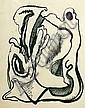 Lajos Kassák, Hungarian 1887-1967 - Abstract, Lajos Kassak, Click for value