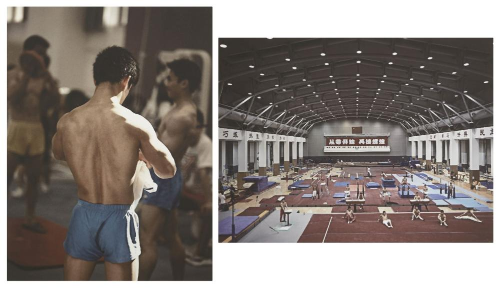 Anderson & Low, British est. 1990- Gymnasium and Dong Zheng Dong (2009-10), 2013; two c-prints