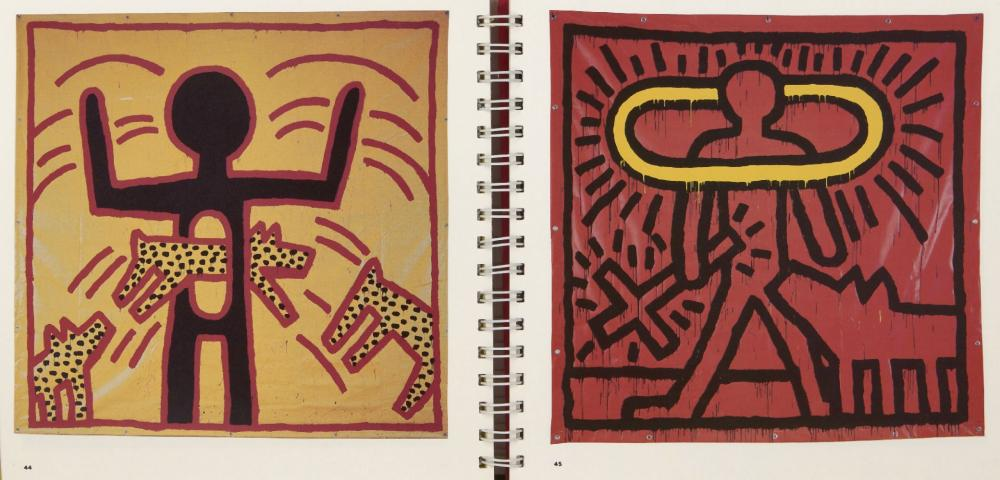 Keith Haring, American 1958-1990- Tony Shafrazi Gallery Exhibition Catalogue, 1983; limited edi