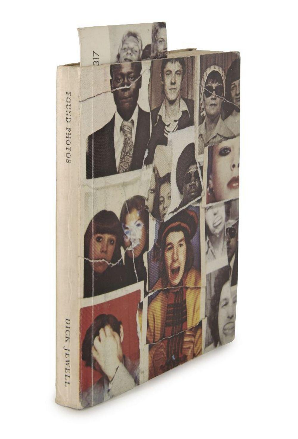 Dick Jewell, British b.1951- Found Photos, 1977; the complete book, printed in colours, signed an