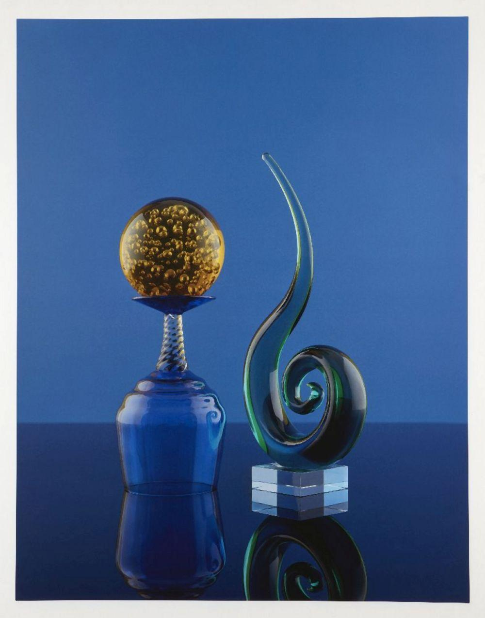 Sarah Jones, British 1959- Cabinet (Spiral), 2016; archival inkjet print in colours on 310gsm C