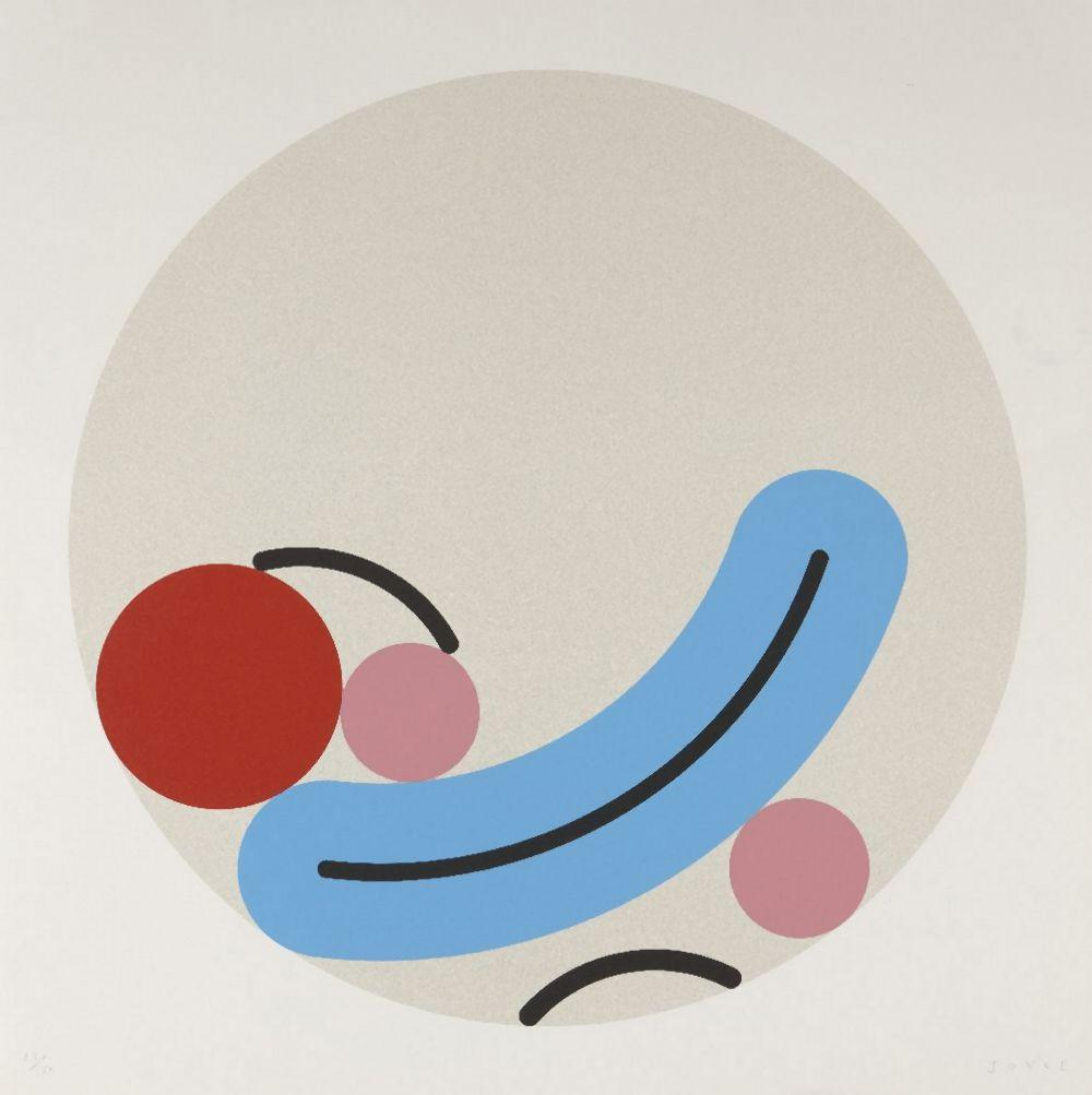 James Joyce, Contemporary- It would be Funny if it wasn't true- screenprint in colours with varni