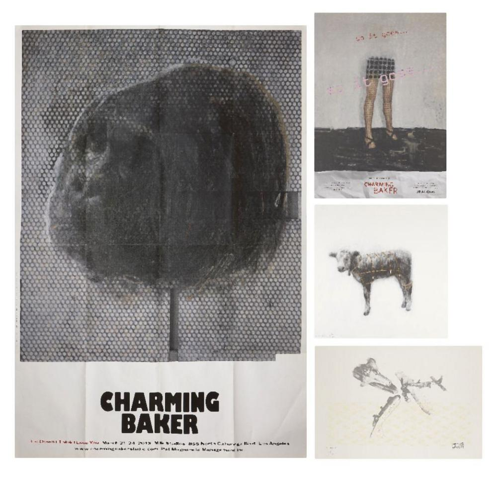 Charming Baker, British b.1964- Calf, 2016; archival inkjet on Somerset Satin wove, signed and