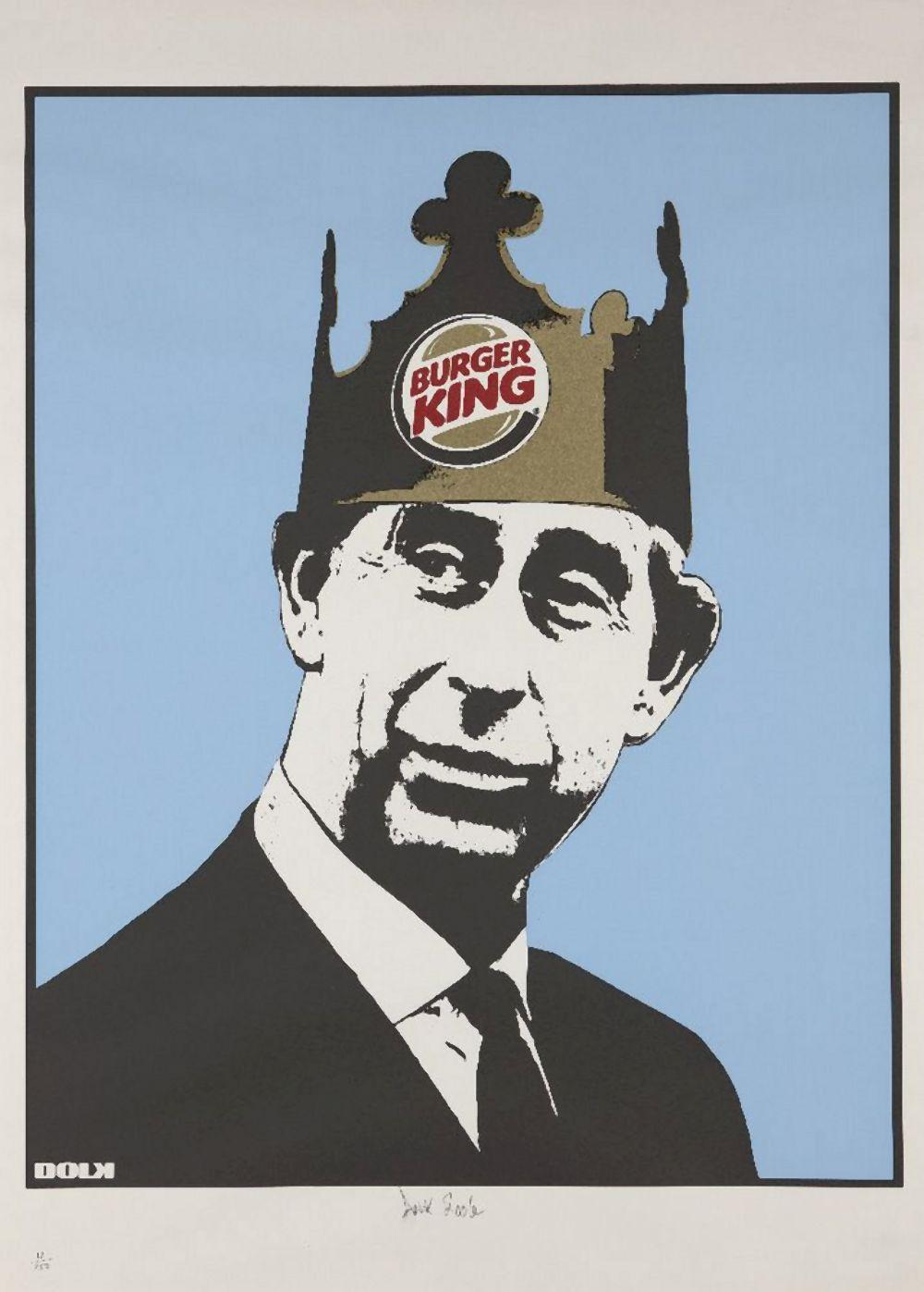 Dolk, Norwegian b.1979- Burger King, 2006; screenprint in colours on wove, signed, dated, and num