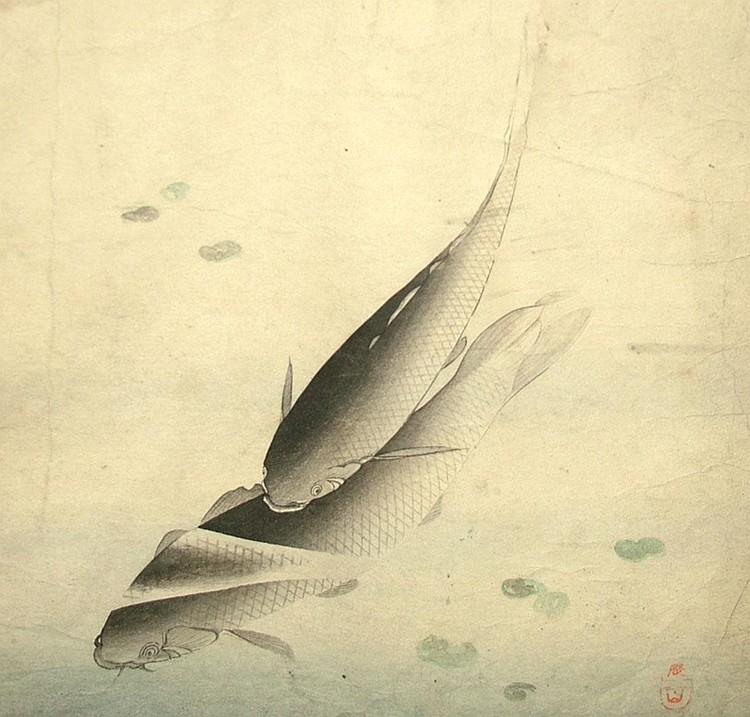 Manner of Matsumura Keibun 1779-1843- Carp;