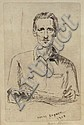 Henry Rayner, Australian 1902-1957- Self-portrait;, Henry Rayner, Click for value