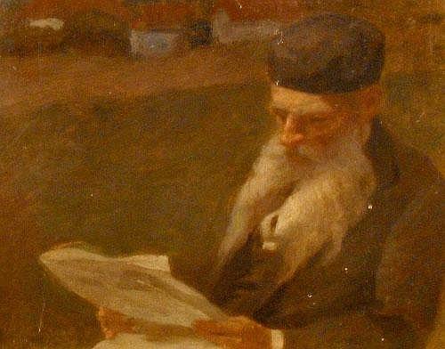 Tihamer von Margitay, Hunagarian 1859-1922- Rabbi