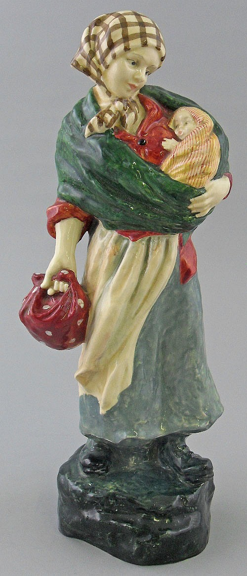 A rare Royal Doulton figure of the Young Mother