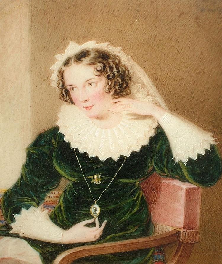 William Derby 1786-1847- Portrait miniature