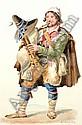 Arthur John Strutt 1819-1888- Studies of Italian, Arthur John Strutt, Click for value