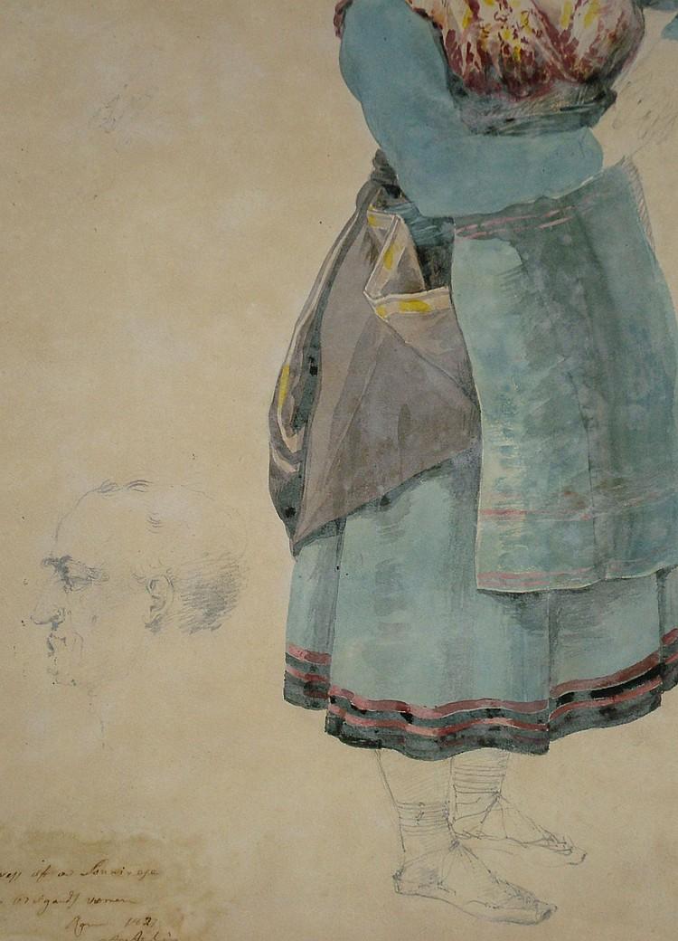 Agostino Aglio, Italian 1777-1857- Composite