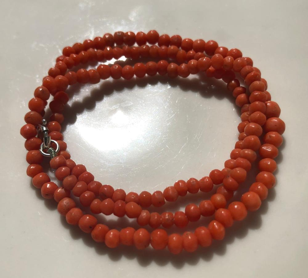 Antique Coral Necklace