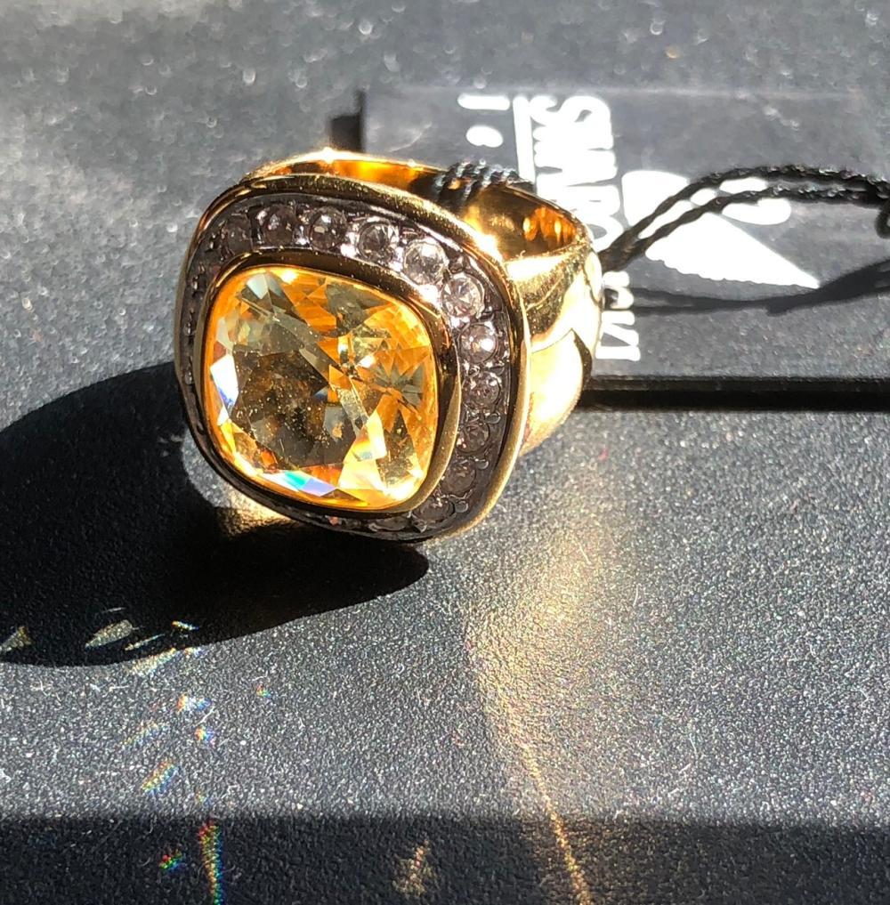 ab50df5f5 SWAROVSKI Ring with Original Tag