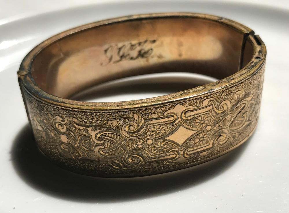 Vintage Bracelet Signed