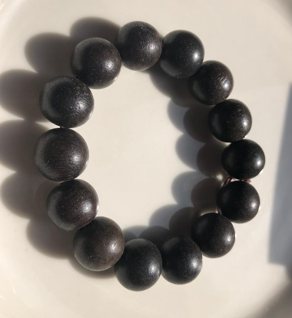 Antique Chinese Chen Xiang Bracelet