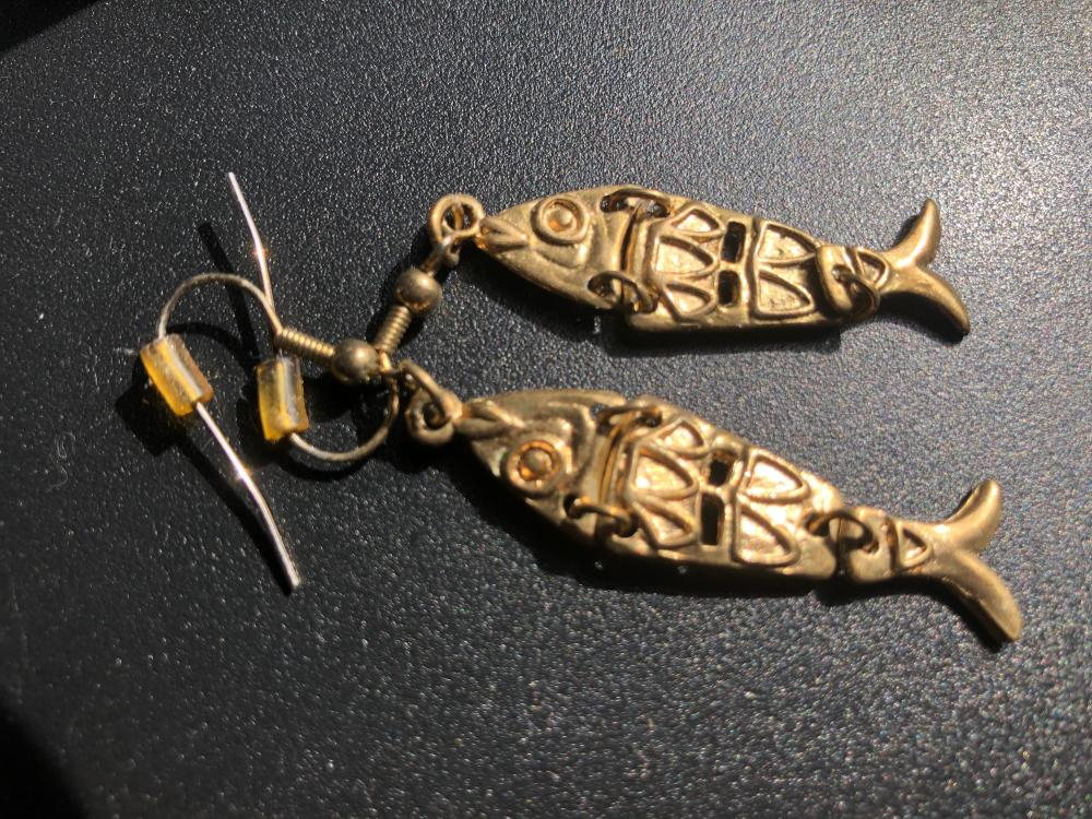 Pair of Fish Earrings