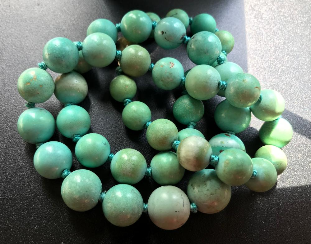 Antique Chinese Turquoise Necklace