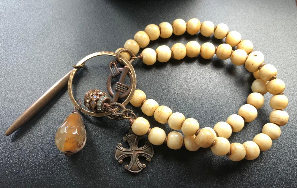 Vintage Bone Necklace