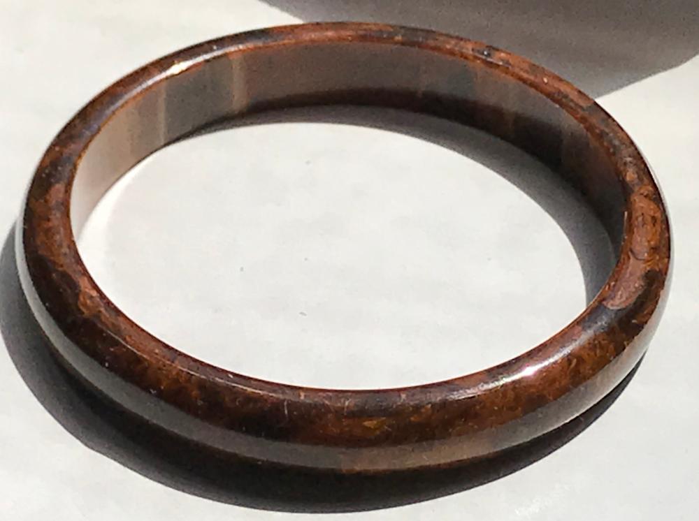 Antique Amber Bracelet