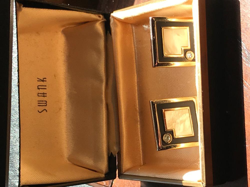 Pair of Swank Cuff Links with Origional Box