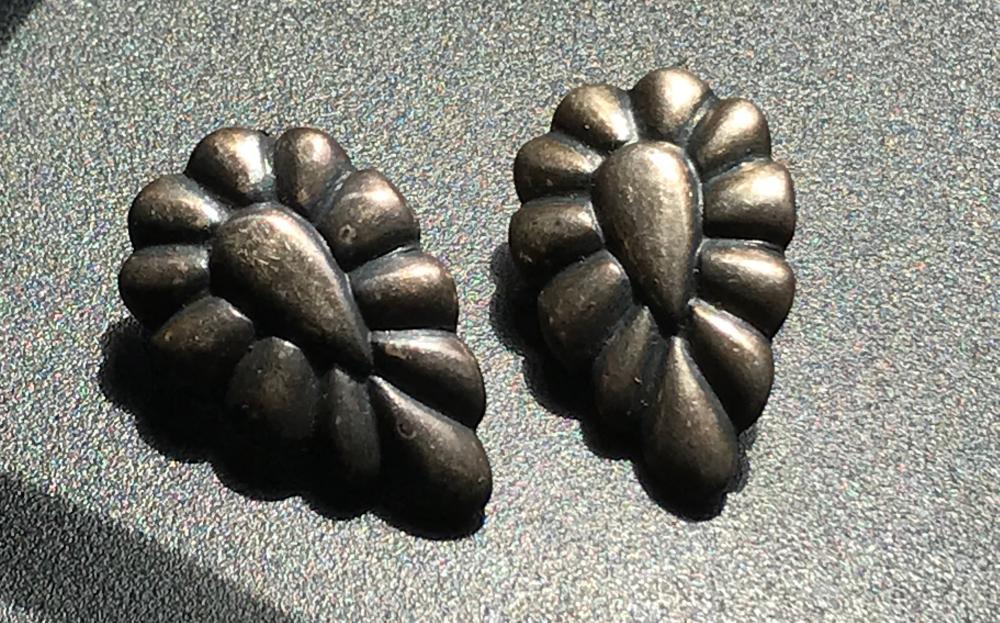 Pair of Silver Earrings