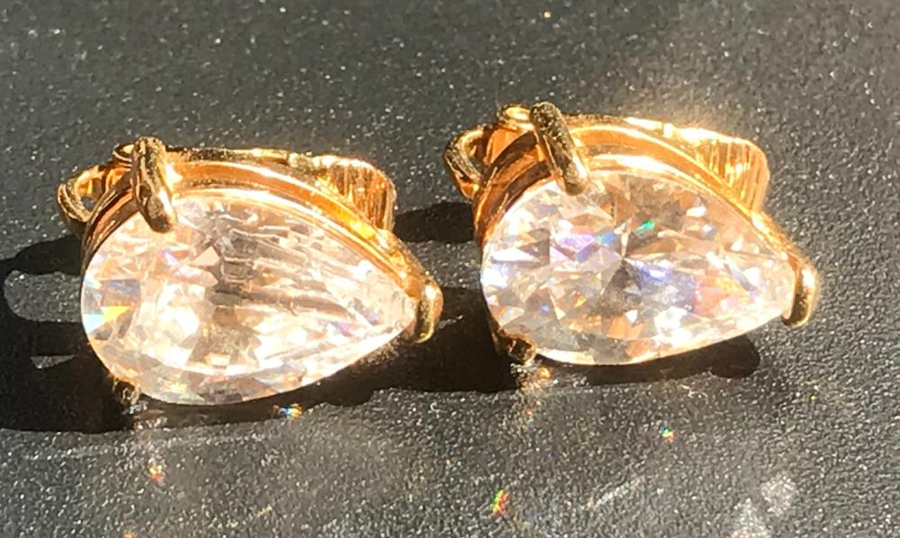 Pair of Gold Filled Earrings