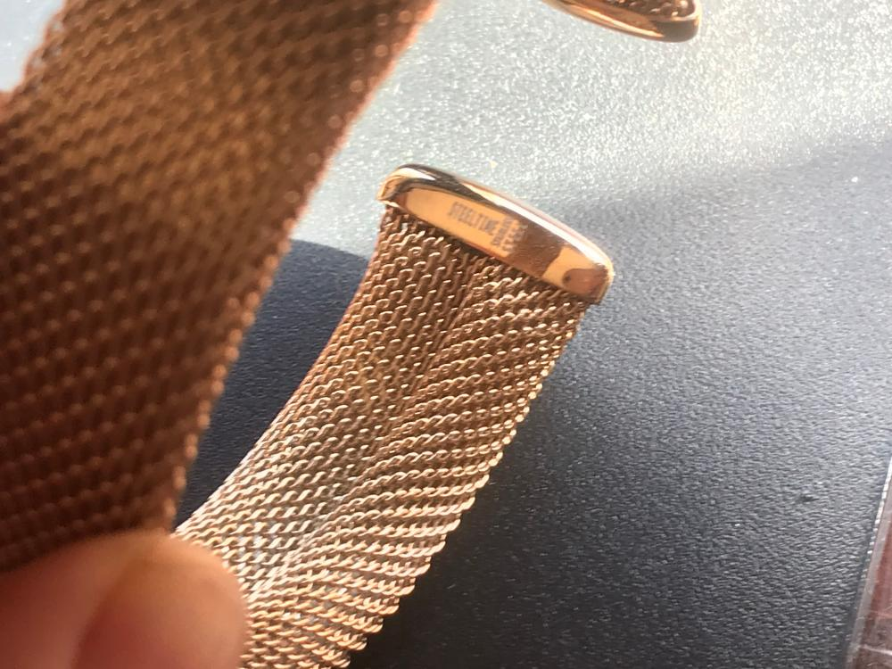 Vintage Bracelet Marked Stainless Steel