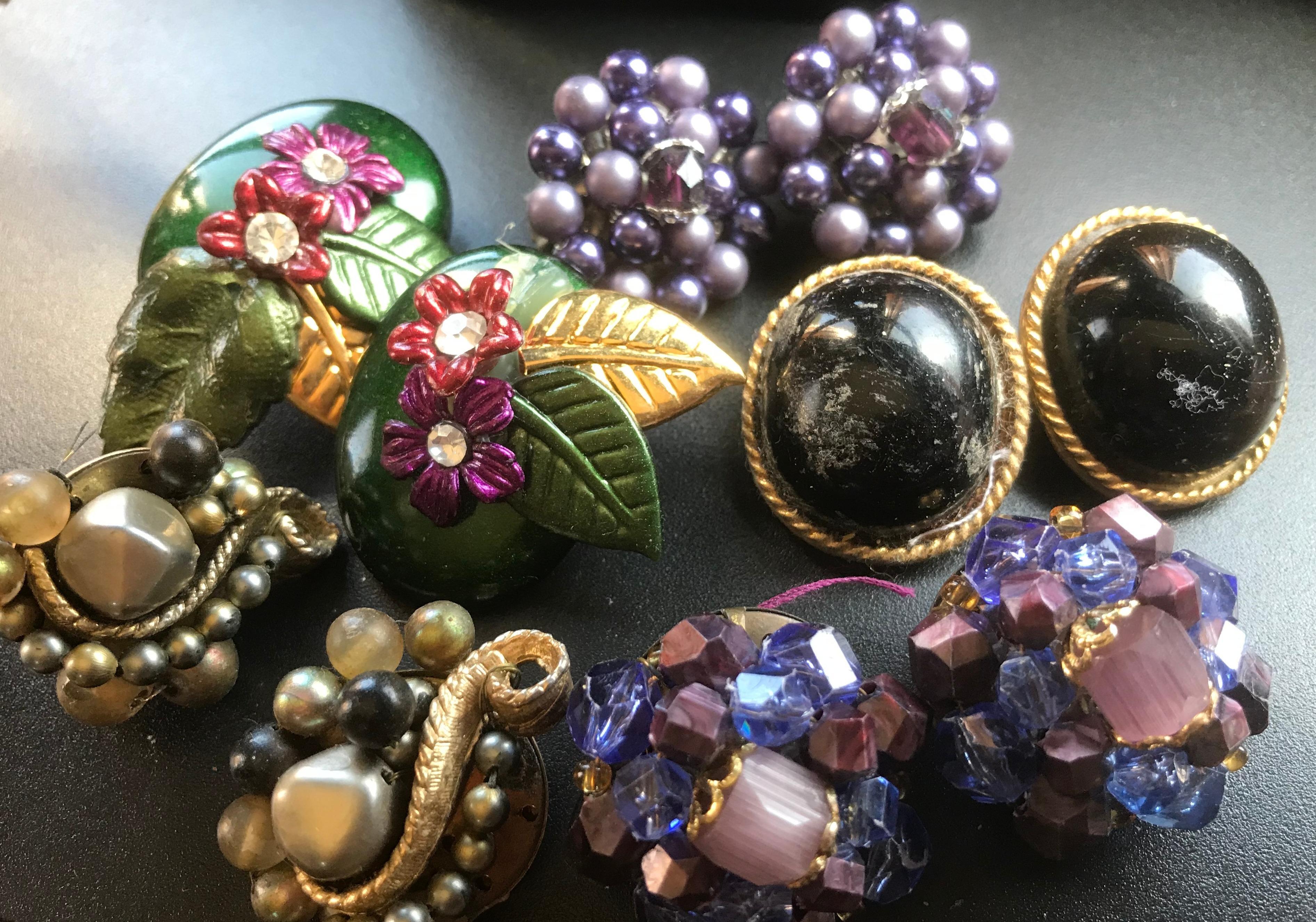 Group of Earrings