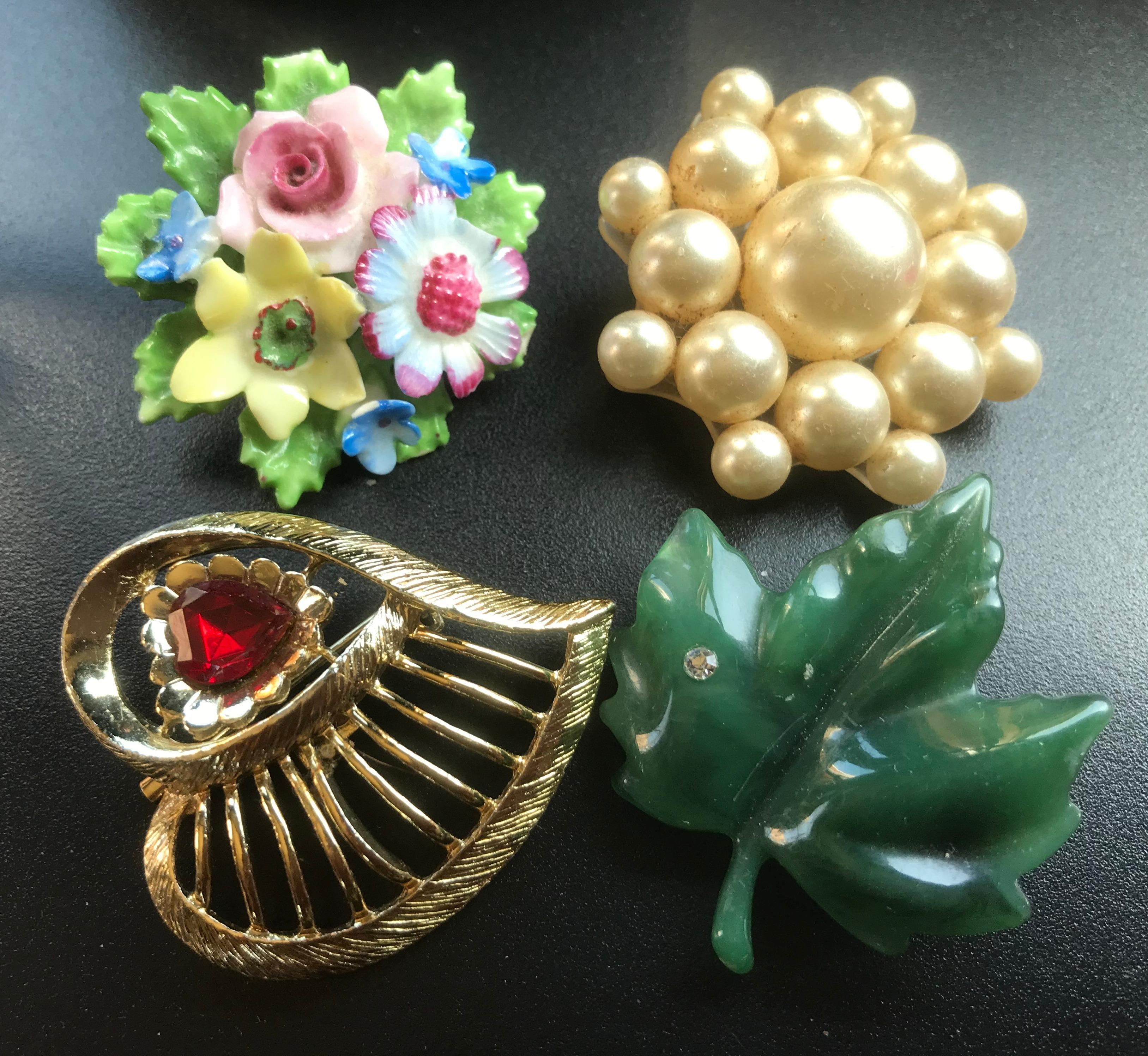Group of Brooch Pins