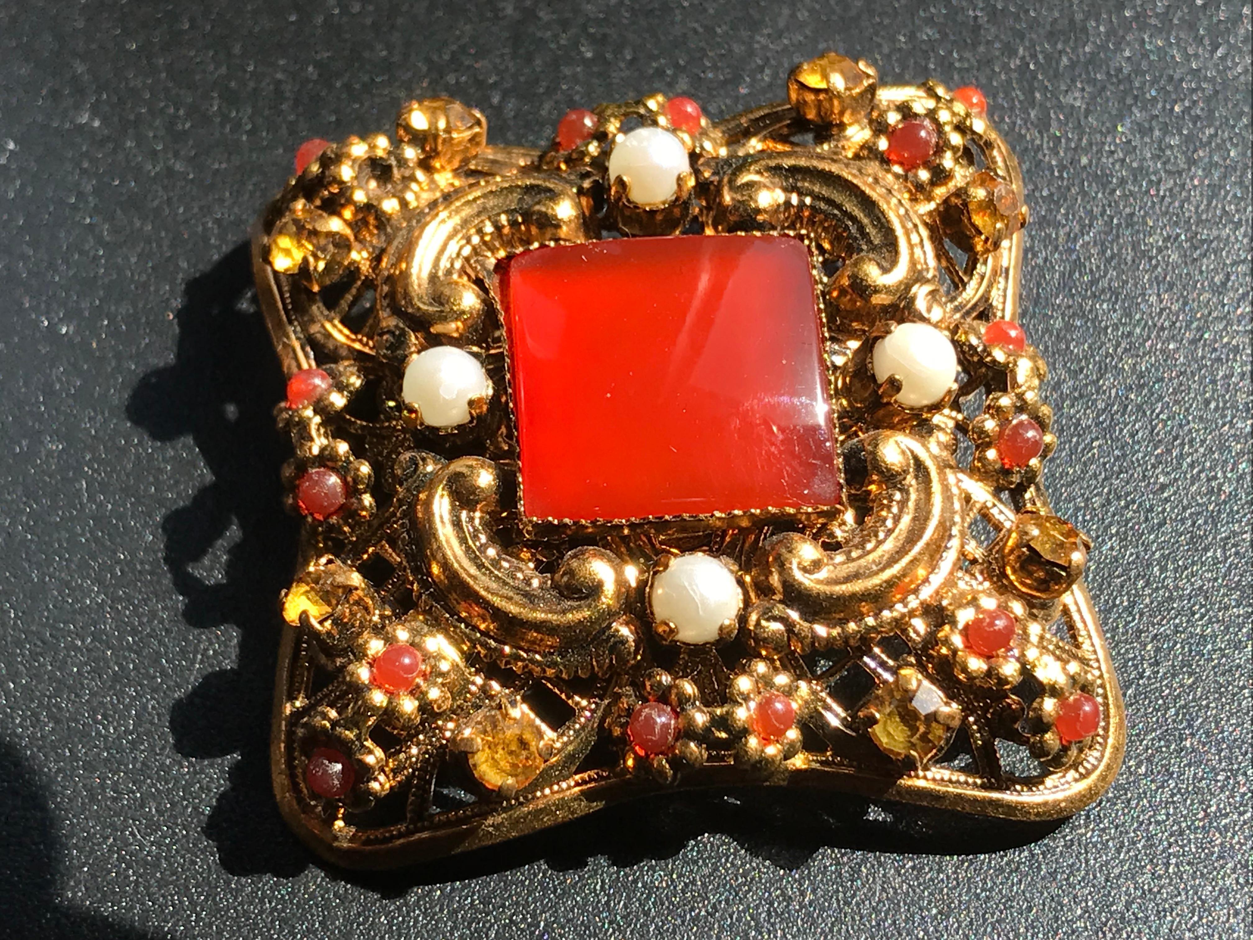 Vintage West Germany Brooch Pin