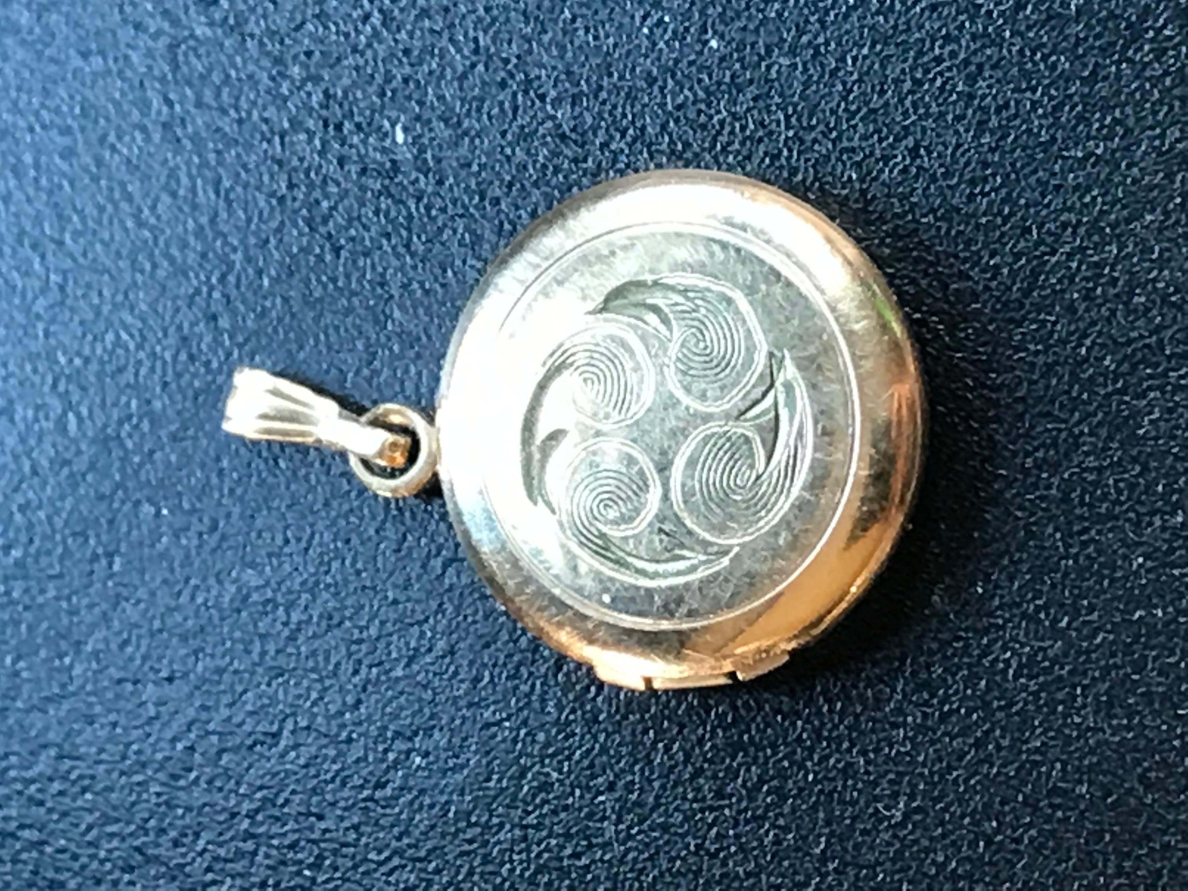 Vintage Gold Filled Picture Holder