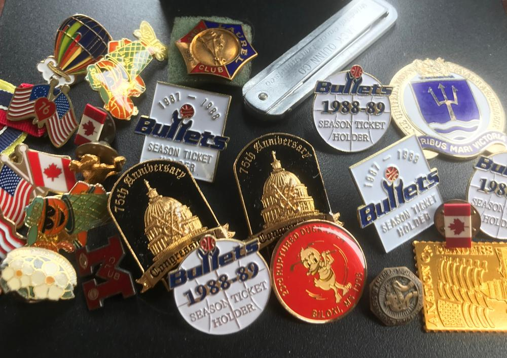 Group of Pins