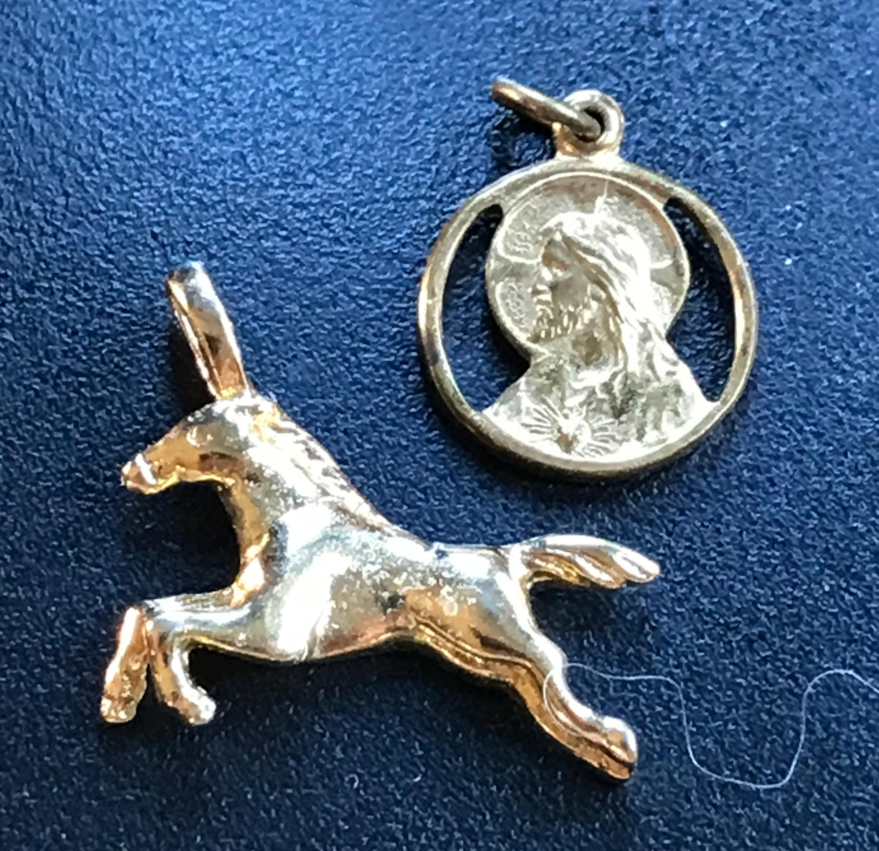 Two Gold Filled Pendants