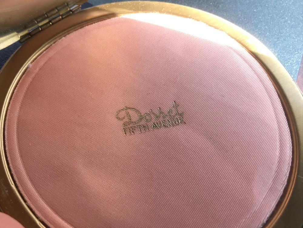 Vintage Makeup Powder Box