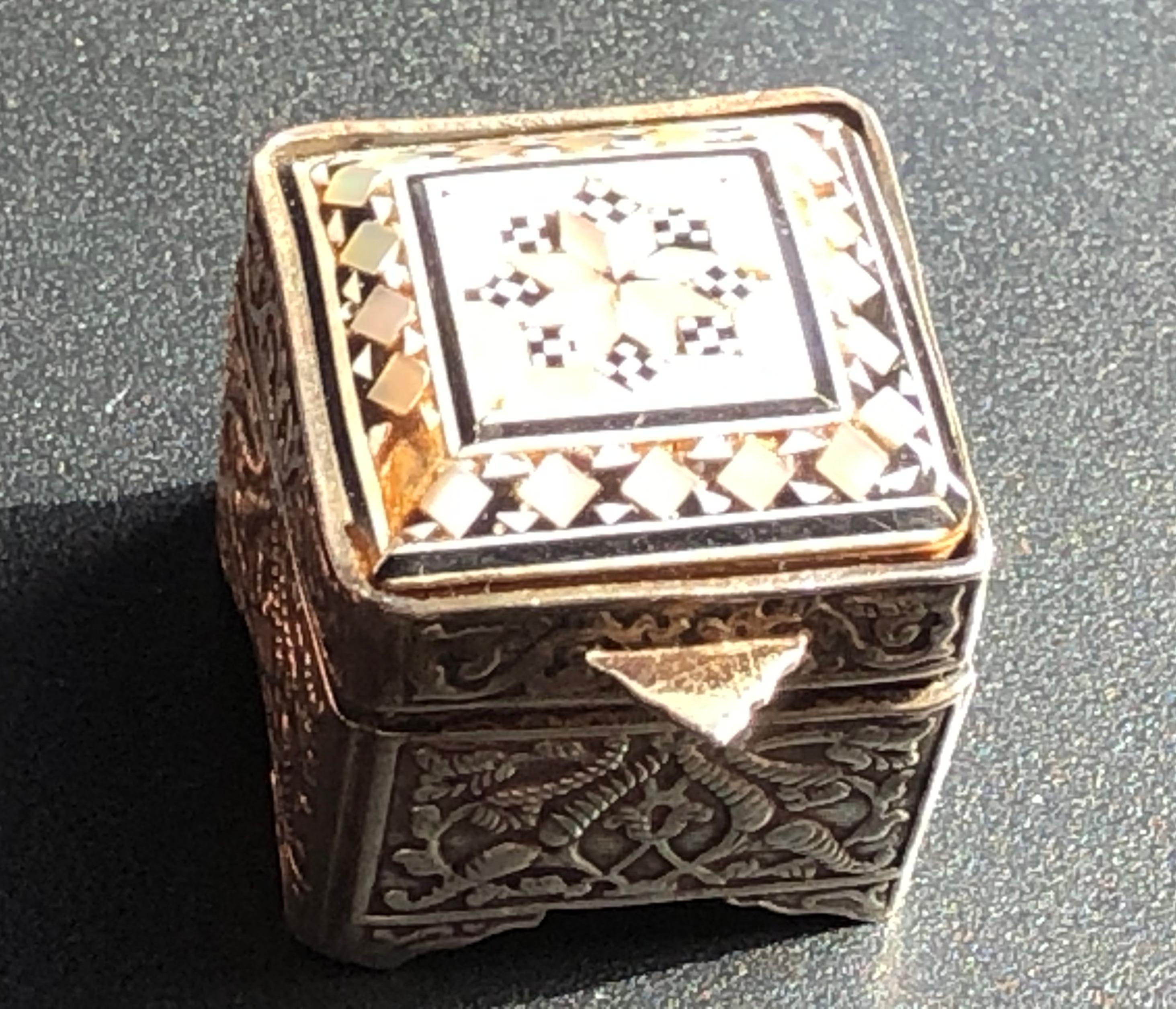 Vinatge Silver Box