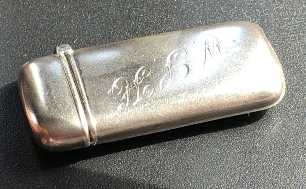 Year 1889 Silver Box