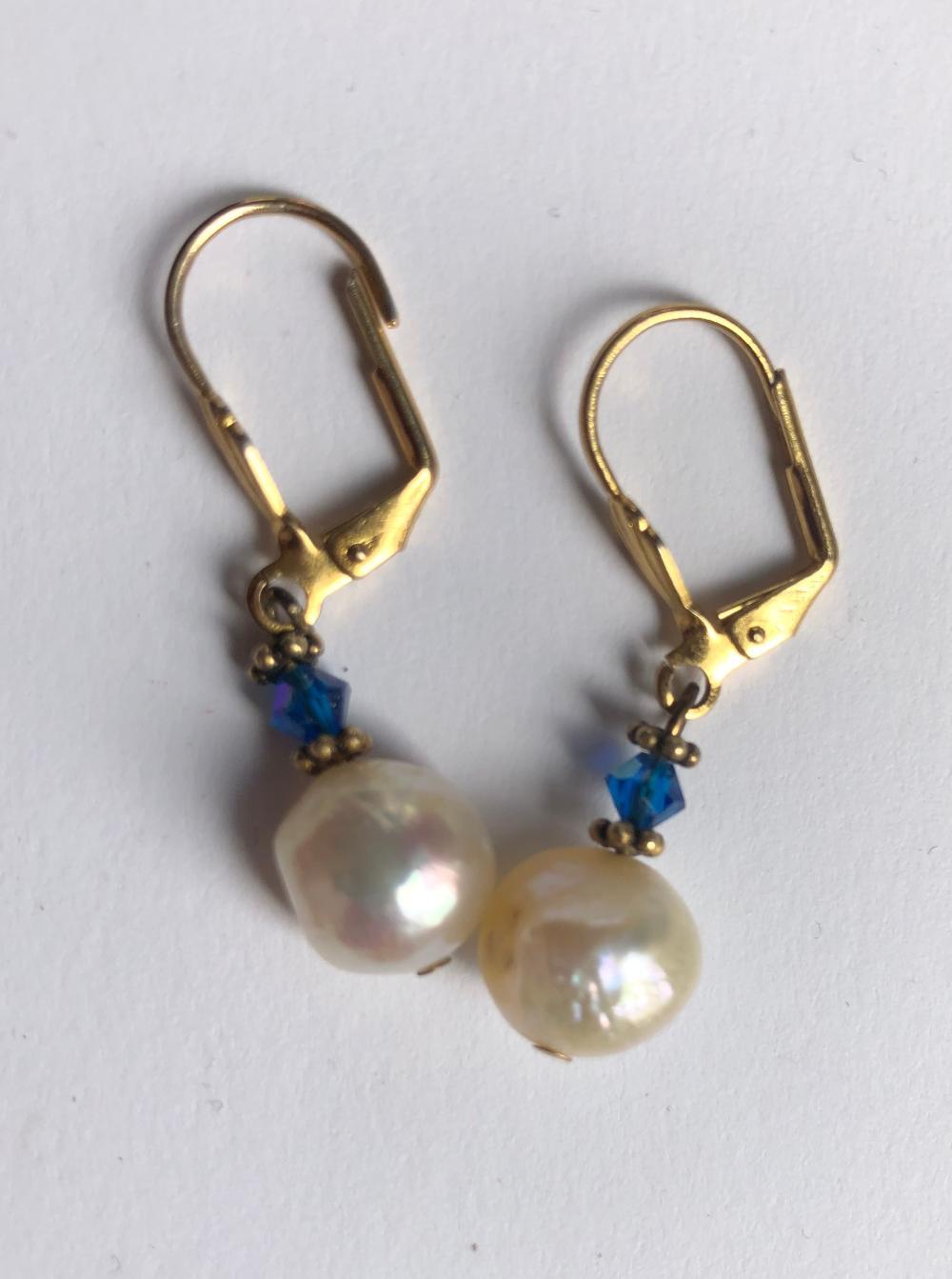 Pair of Pearl Earrings