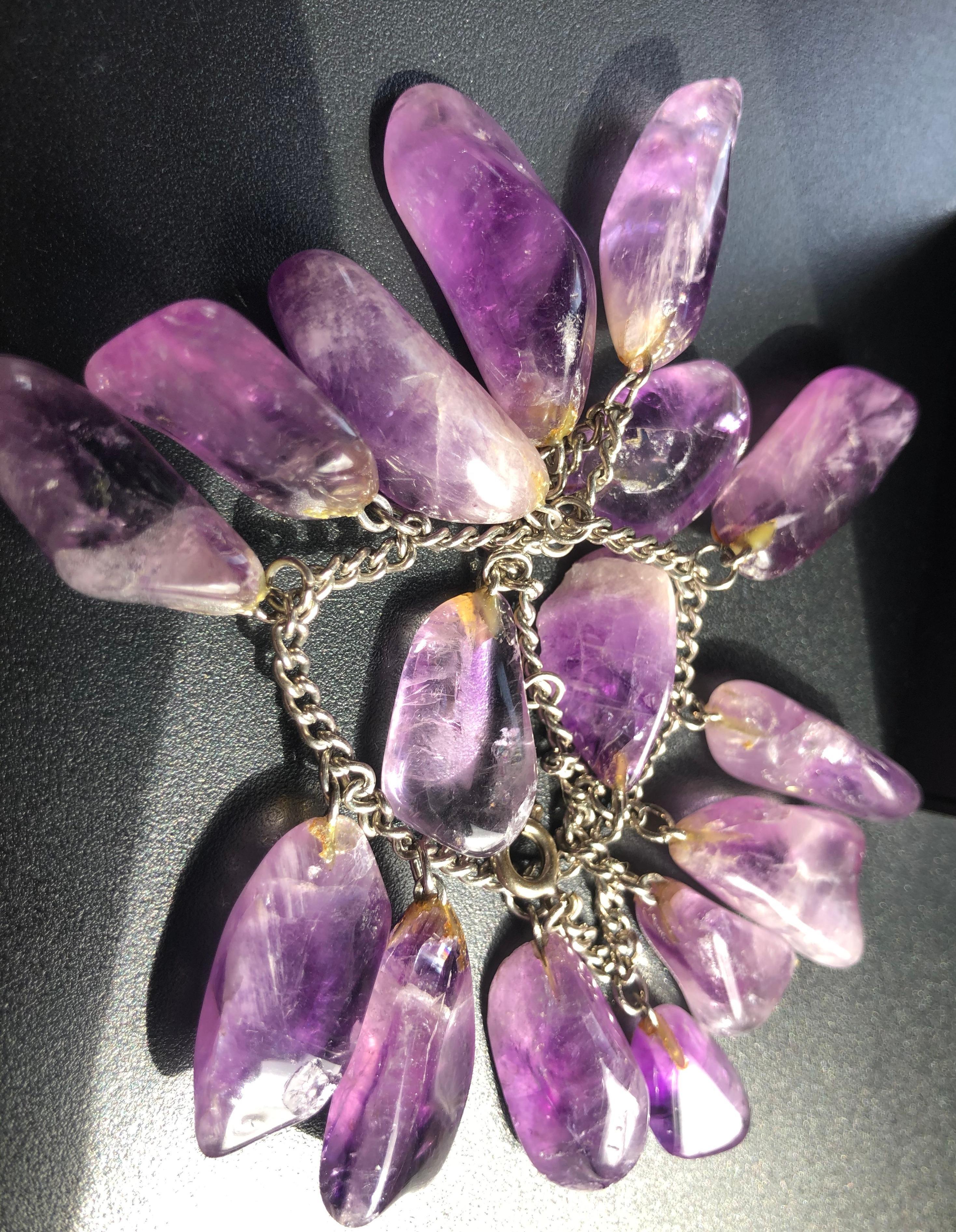 Vintage Amethyst Bracelet
