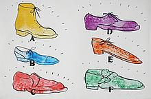 Jim Dine-Shoes  ABCDEF