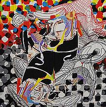 Frank Stella The Whale-Watch Shawl