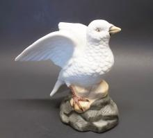 Dove with open wings ~