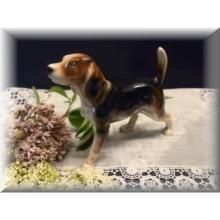 Porcelain Beagle Dog