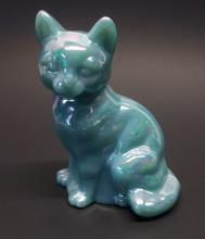 Fenton Iridescent Cat