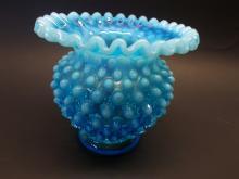 Fenton Aquamarine Opalescent  Bowl