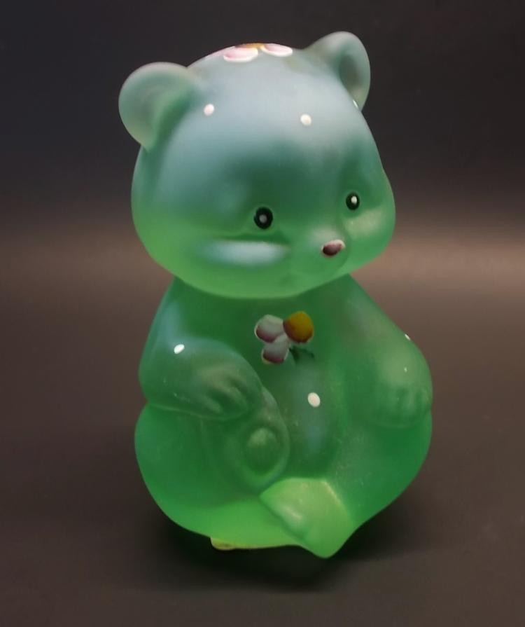 Fenton Green Opal Bear