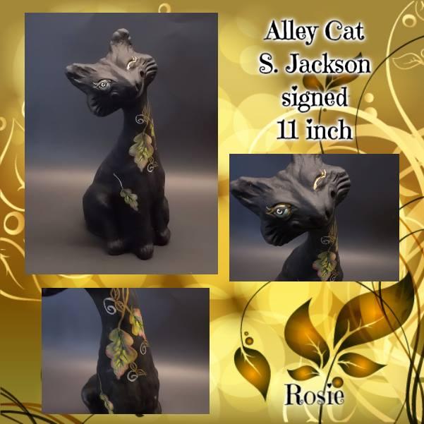 Fenton Golden Leaves Alley Cat