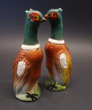 Mid Century Pheasant Salt and Peppers