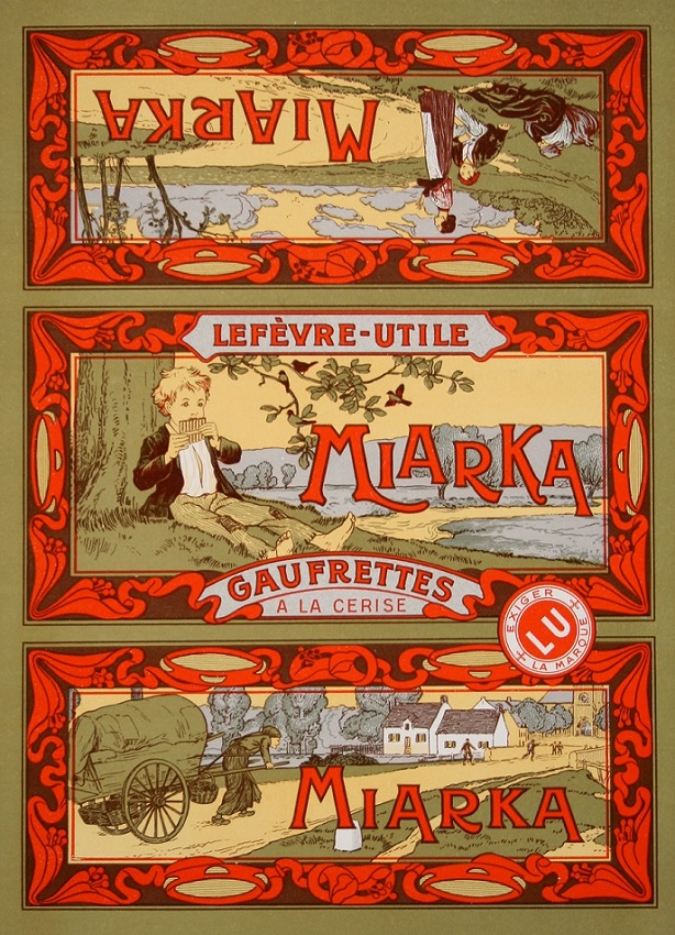MIARKA LABEL - AFTER MUCHA ORIGINAL VINTAGE POSTER