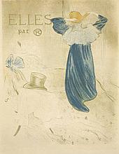 ORIGINAL ELLES - BEFORE BOTTOM TEXT VINTAGE POSTER BY TOULOUSE LAUTREC 1896