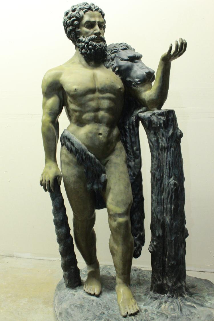 Hercules by Benedetto Boschetti